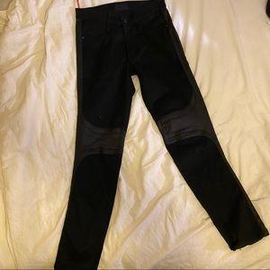 James jeans femme fatale black Moto jeans